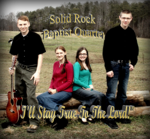 SOLID ROCK BAPTIST QUARTET CD COVER PIC